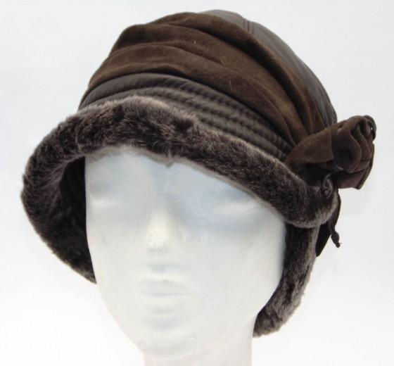 VÝPRODEJ - Kožešinová čepice dámská. 0k18z roza hneda.jpg hnědá c8669ee82d