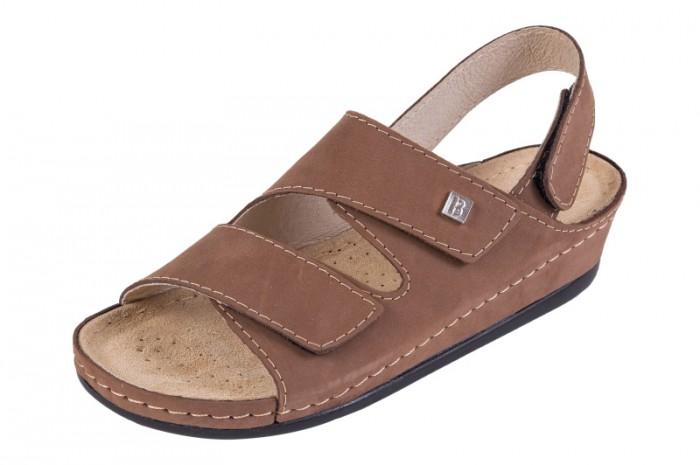 Zdravotní obuv ANATOMIC. bz215 nubukjasnybraz 1.jpg světle hnědá nubuk dd4fc92336