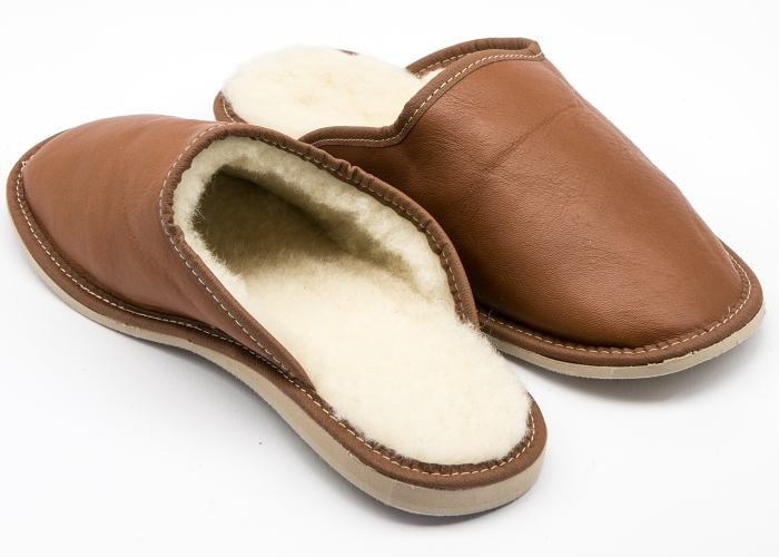 07f2902d198 Cheetah    Pánské kožené pantofle