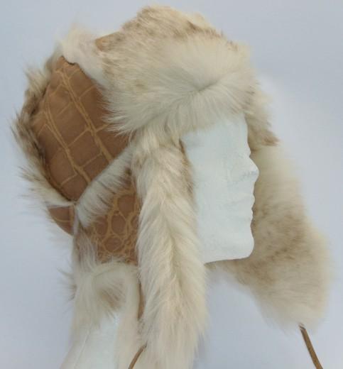 VÝPRODEJ - Kožešinová čepice dámská. dsc00776.jpg hnědá aca7d83d8f