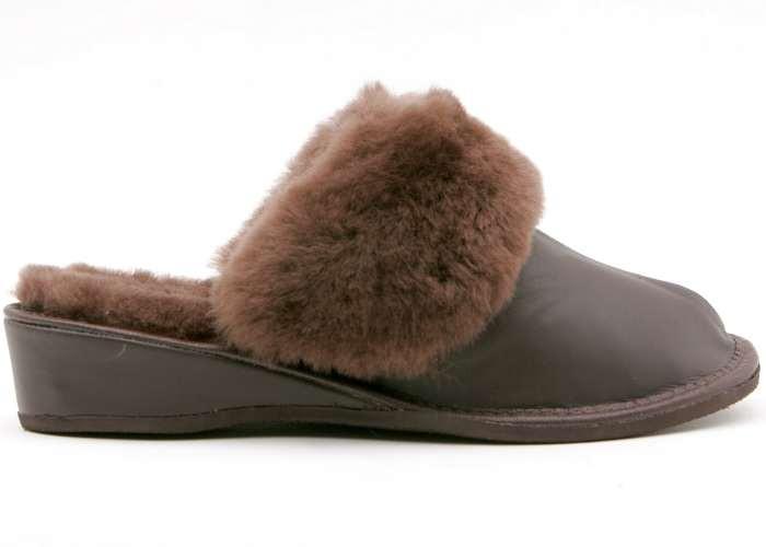 b4728ad1595 Cheetah    Kožešinové domácí pantofle