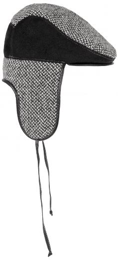 VÝPRODEJ - Kožešinová čepice pánská. m23-15 olivier.png černá 46cc3d6aeb