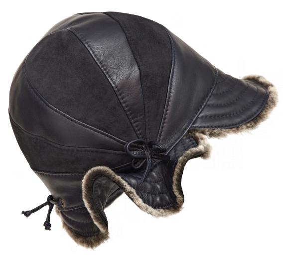 VÝPRODEJ - dámská kožešinová čepice. pawie oko.png černá d63fa08d59