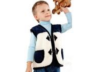 Dětská vesta dvoubarevná