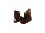 Velurové pantofle